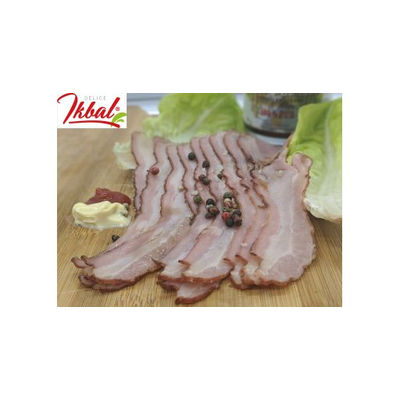 Veal bacon
