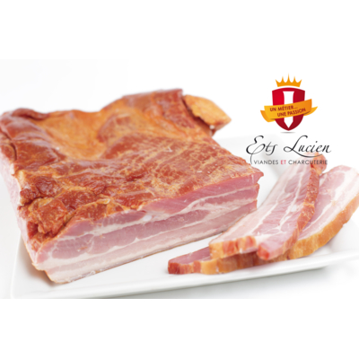 Frozen smoked pork belly 1.75kg