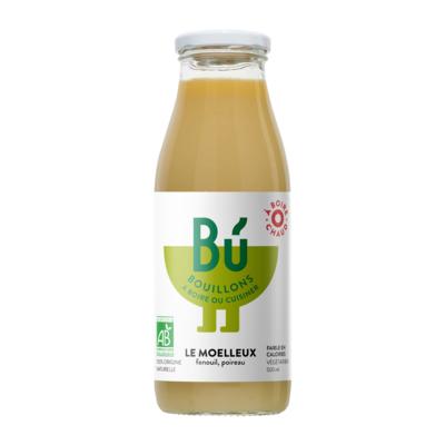 Le Moelleux - Bouillon de fenouil, poireau bio 50cl / The Smooth - Organic fennel and leek broth 50cl