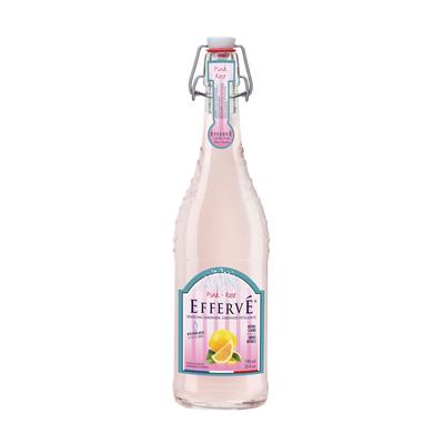 EFFERVÉ French Sparkling Lemonade- PINK LEMONADE 750mL
