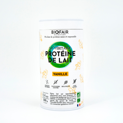 Organic whey protein vanilla