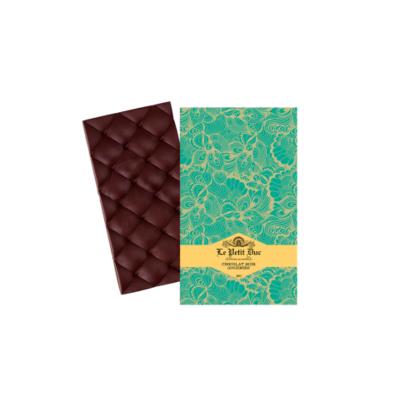 Ginger dark chocolate organic bar