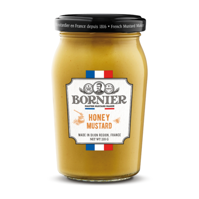BORNIER French Honey mustard 235g