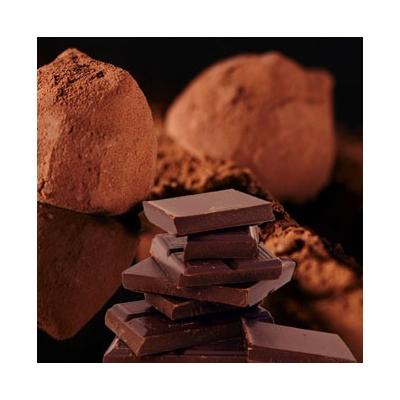 Cocoa dusted truffle
