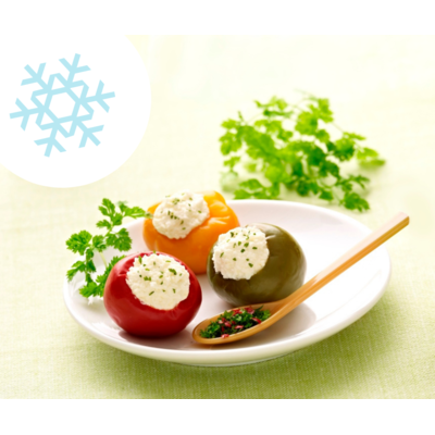 peppers stuffed with ricotta