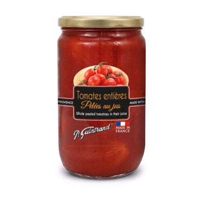 Whole peeled tomatoes from Provence with juice PG 720 ml - P. Guintrand
