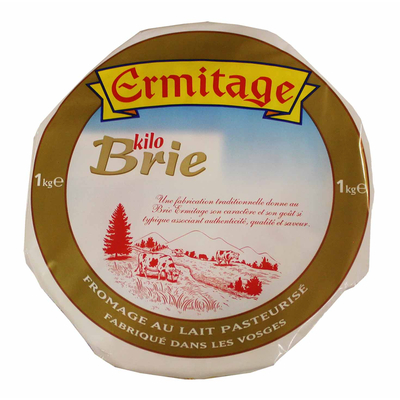 Brie 1kg Ermitage 33%