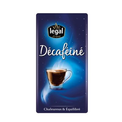 Décaféiné 250g grounded coffee pack