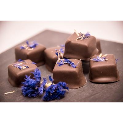 chocolat au bleuet