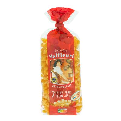 VALFLEURI Pâtes d'Alsace Serpentini 250g Egg pasta made with 7 fresh free-range eggs