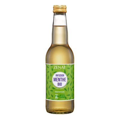ORGANIC ICED TEA - SPEARMINT AND MOROCCAN