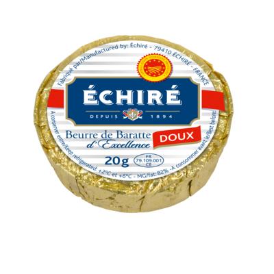 RECHARGE BEURRE 20G DOUX AOP ECHIRE
