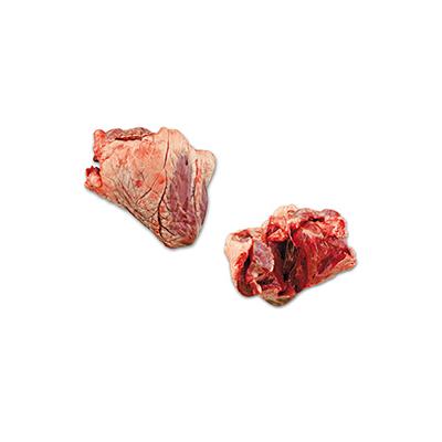 Frozen beef hearts