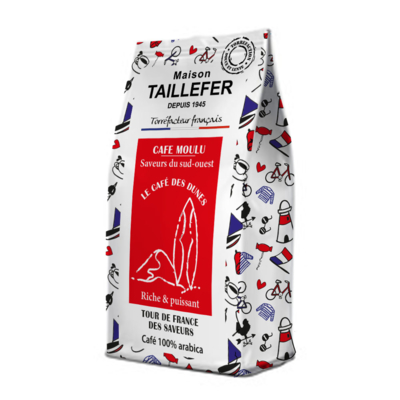 Dunes coffee sachet 125g Maison Taillefer   (SOUTH-WEST OF France)