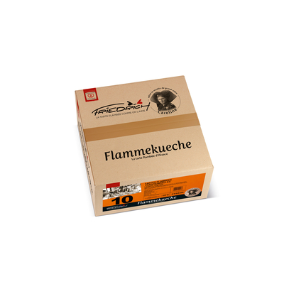 TARTE FLAMBEE TRADITION 10x260gr (Lardon/oignon)