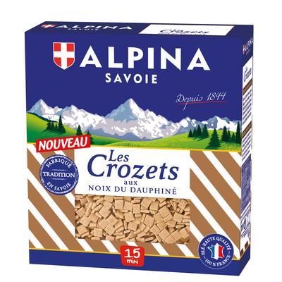 Crozets with walnuts