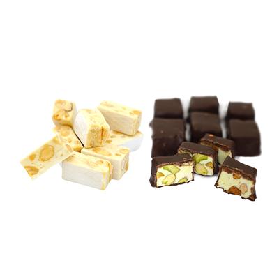 Artisan Nougat (dominos, snack-size bars, slices, nougat cakes…)