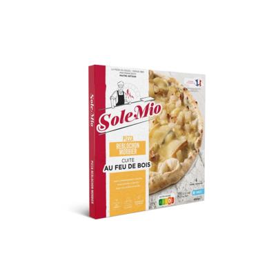 Reblochon Morbier pizza 450 G SOLE MIO wood-fired frozen