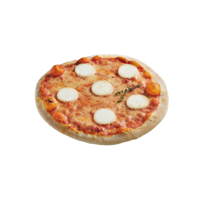 Organic Goat Cheese pizza 360 G SOLE MIO wood-fired frozen