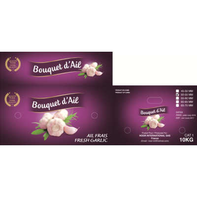 "Fresh Garlic ""Bouquet d'ail"""