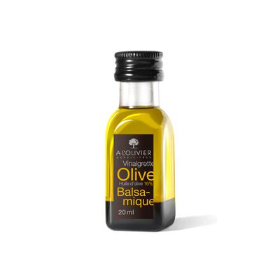 Miniature salad dressing olive oil and balsamic vinegar - 20ml