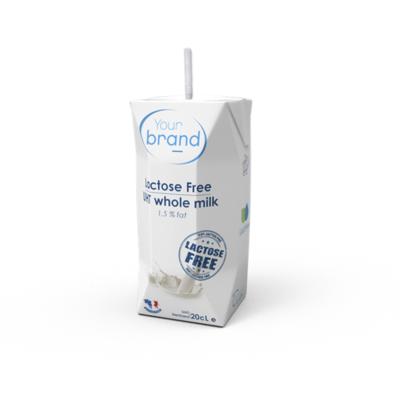 UHT Sterilized low Fat Lactose Free_1L/200ml Bricks