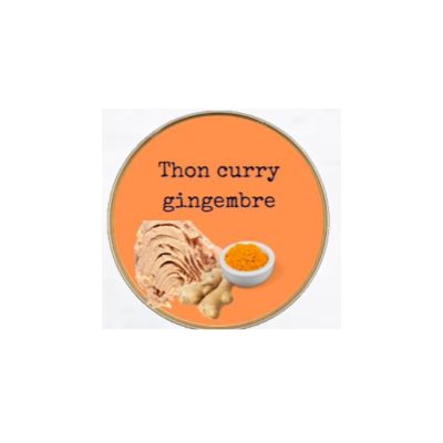 Tuna in Ginger Curry Sauce