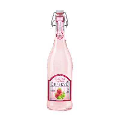 EFFERVÉ French Sparkling Lemonade - STRAWBERRY BASIL 750mL