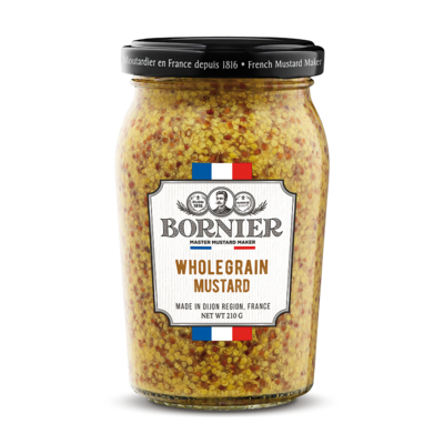 BORNIER French Authentic Wholegrain mustard 210g / 420g