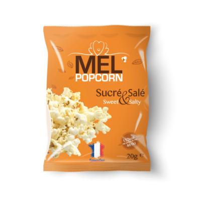 Savory popcorn  Sweet and salty 20g