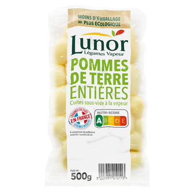 LUNOR STEAMED WHOLE POTATOES 500G