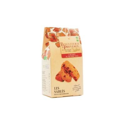 Caramel organic shortbread