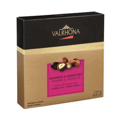 Valrhona Equinoxe Dark & Milk Almonds & Hazelnuts Set