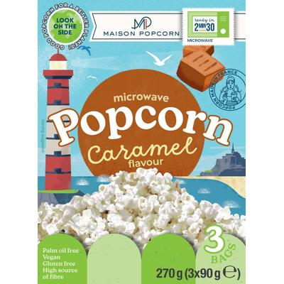 Maison Popcorn Caramel flavour