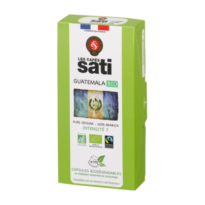 Guatemala Capsules - organic, fair trade and biodegradable x10