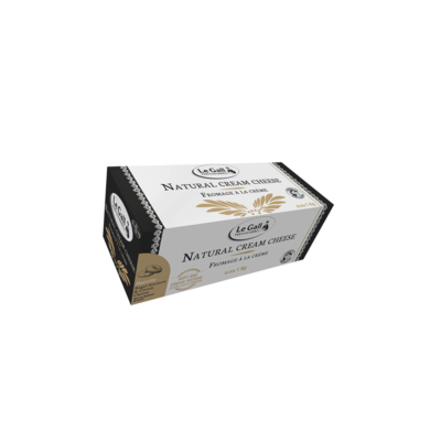Natural cream cheese Le Gall Pro block 1kg