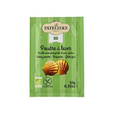 Organic baking powder - gluten free - 8 x 10g
