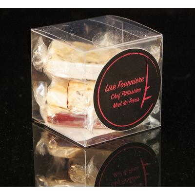 Box of raspberry nougat 100 g