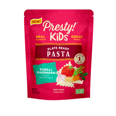 Presty! Ready-to-eat-meal Kids Pasta