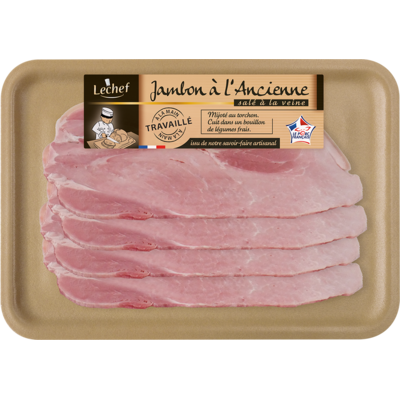 TRADITIONAL COOKED HAM 4 SLICES