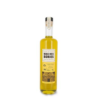 "Extra virgin olive oil , single-varietal ""SALONENQUE"",glass bottle 50cl"