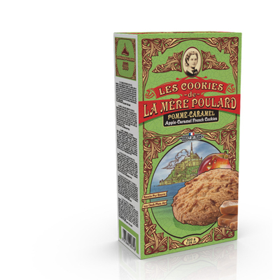 Collector's Box Apple Caramel Cookies - 200g