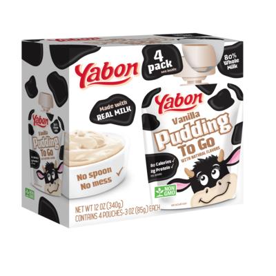 Yabon Kids dairy Pudding to Go