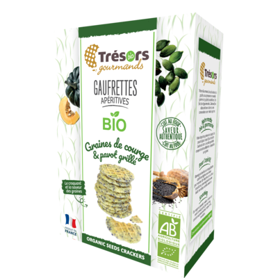 Tresors Gourmands organic crackers