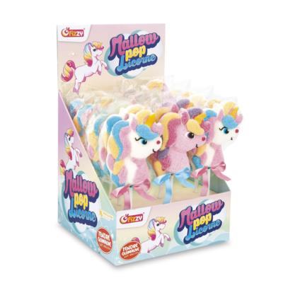 Mallow Pop Unicorn lollies