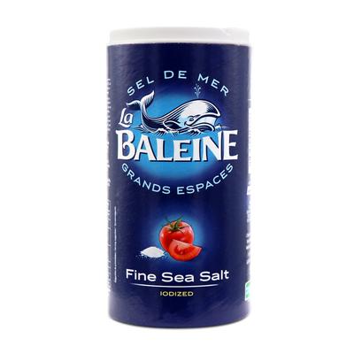 107371_DRUM 500G IODIZED COARSE SEA SALT LA BALEINE FR-NL-GB