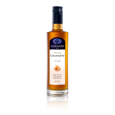 Peanut oil 100% virgin - 25 cl