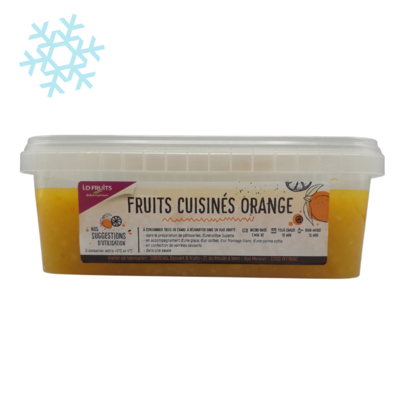 Cooked orange fruit