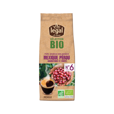 SELECTION BIO - MEXIQUE / PEROU 250g grounded coffee pack