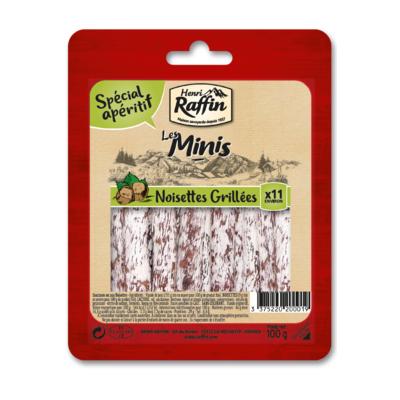 Minis with hazelnuts Henri Raffin 100g